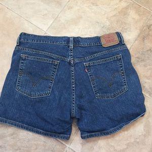 Levi's jean shorts 14 mis stretch